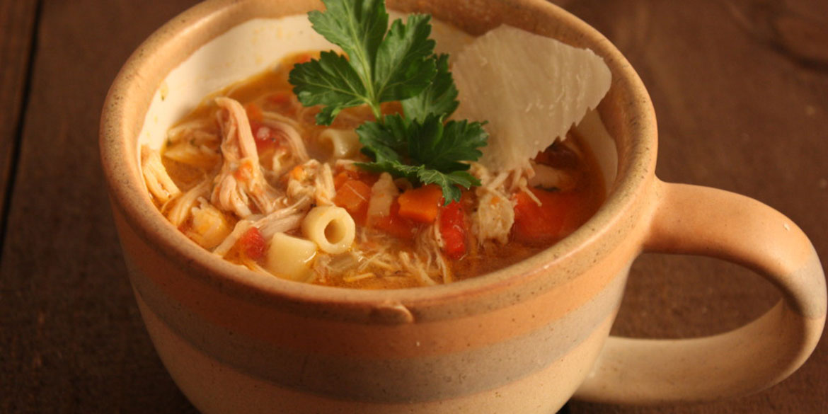 how to make chicken soup at home in hindi