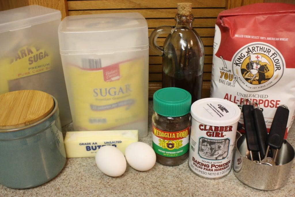 Espresso Biscotti ingredients