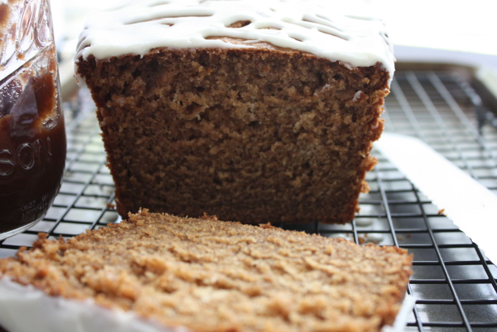Apple Butter Bread - Full of Fall flavors, moist and so scrumptious. by Don't Sweat The Recipe
