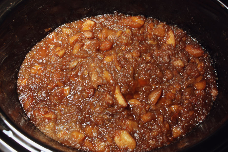Slow Cooker Apple Butter - A perfect spread for just about anything!