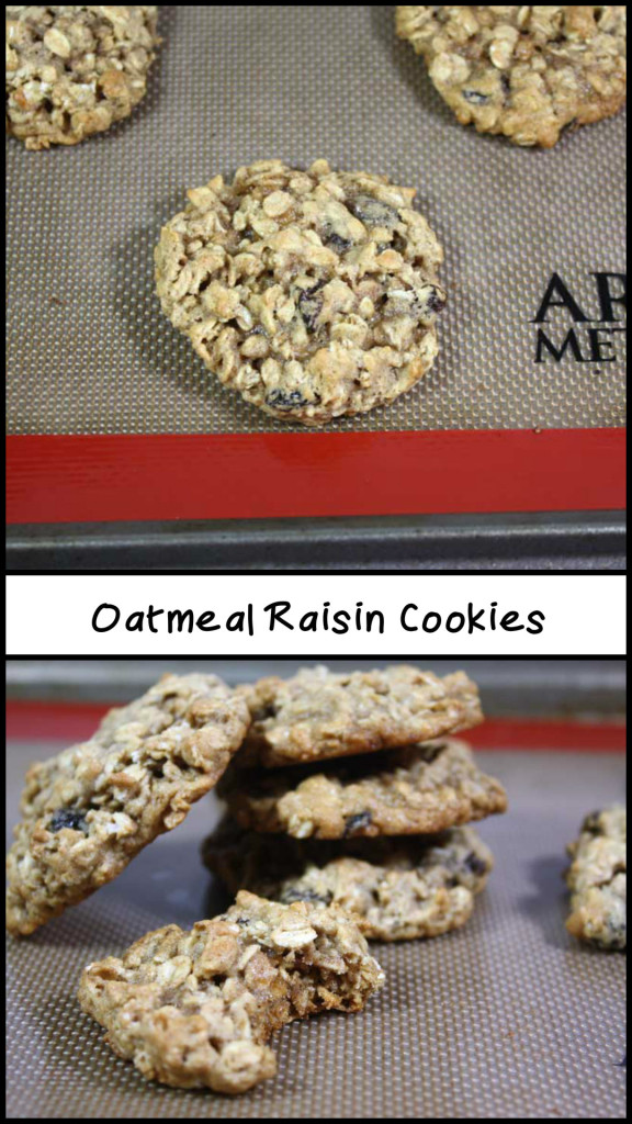 Oatmeal Raisin Cookies - These are the best moist, soft and chewy oatmeal cookies I have ever eaten!