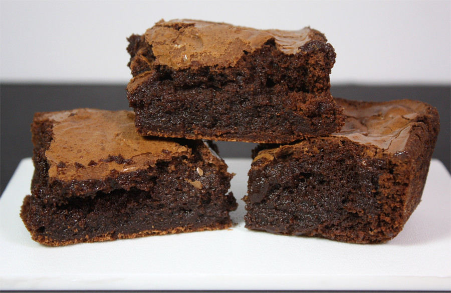The Perfect Brownies - Fudgy, chewy, chocolatey and so moist! Absolute perfection.Take them over the top, serve warm with a scoop of vanilla ice cream.