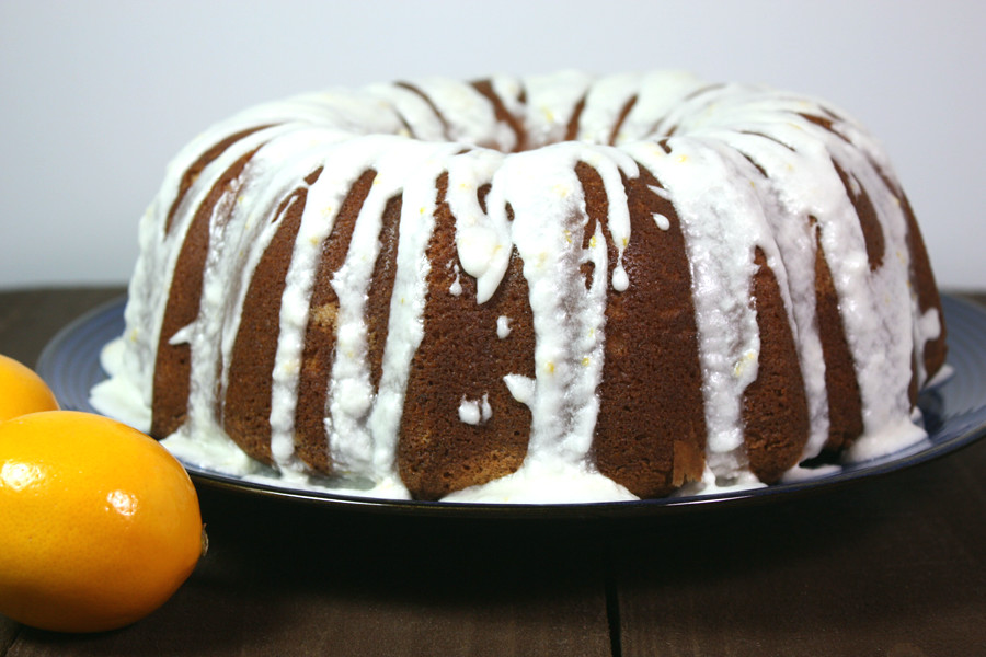 Meyer Lemon Bundt Cake - Moist, tender, lusciously tangy and not too sweet!