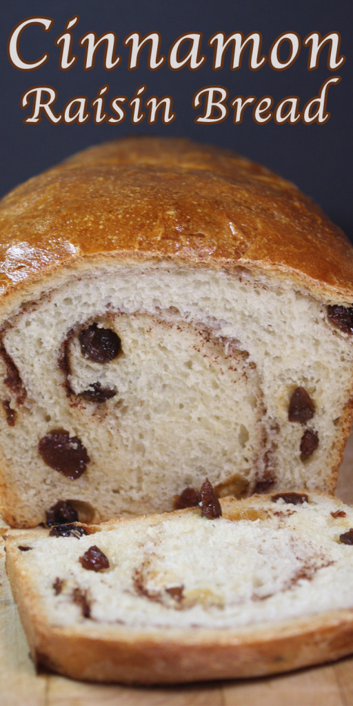 Cinnamon Raisin Bread - You will never buy store-bought again. It's perfect toasted and slathered with butter.