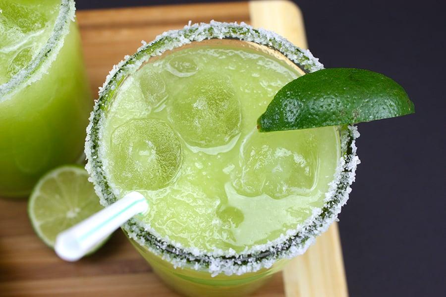 Honeydew Margaritas - A fresh, crisp twist on the classic margarita ...