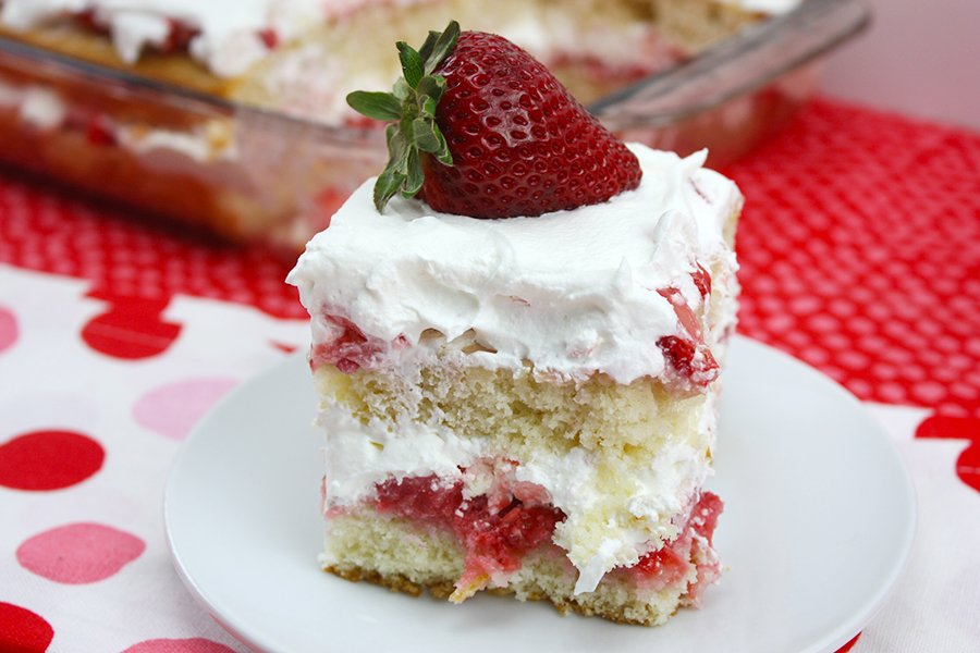 Phenomenal Strawberry Shortcake From Scratch Dont Sweat The Recipe Personalised Birthday Cards Veneteletsinfo