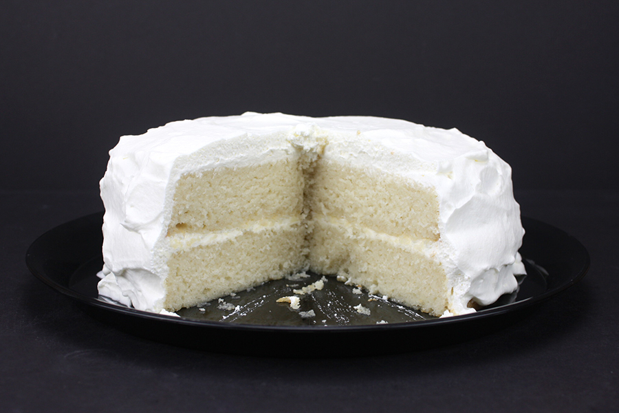 White Cake - Looking for the perfect bakery style white cake? This is IT! You MUST TRY this recipe!