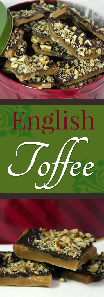 English Toffee - Easy holiday treat everyone loves!
