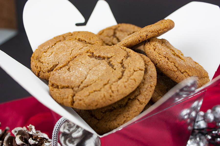 molasses cookies recipe crispy outside soft chewy center