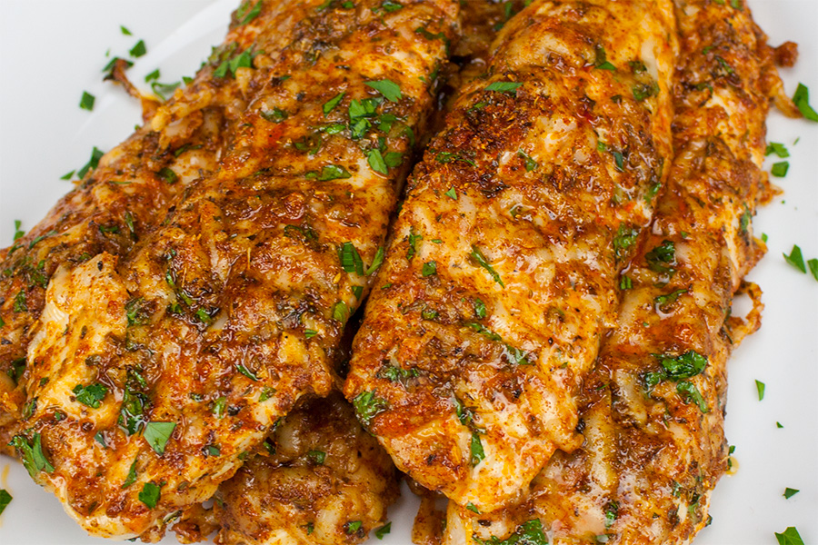 Parmesan-Crusted Chicken Tenders - WARNING addictive and low carb!