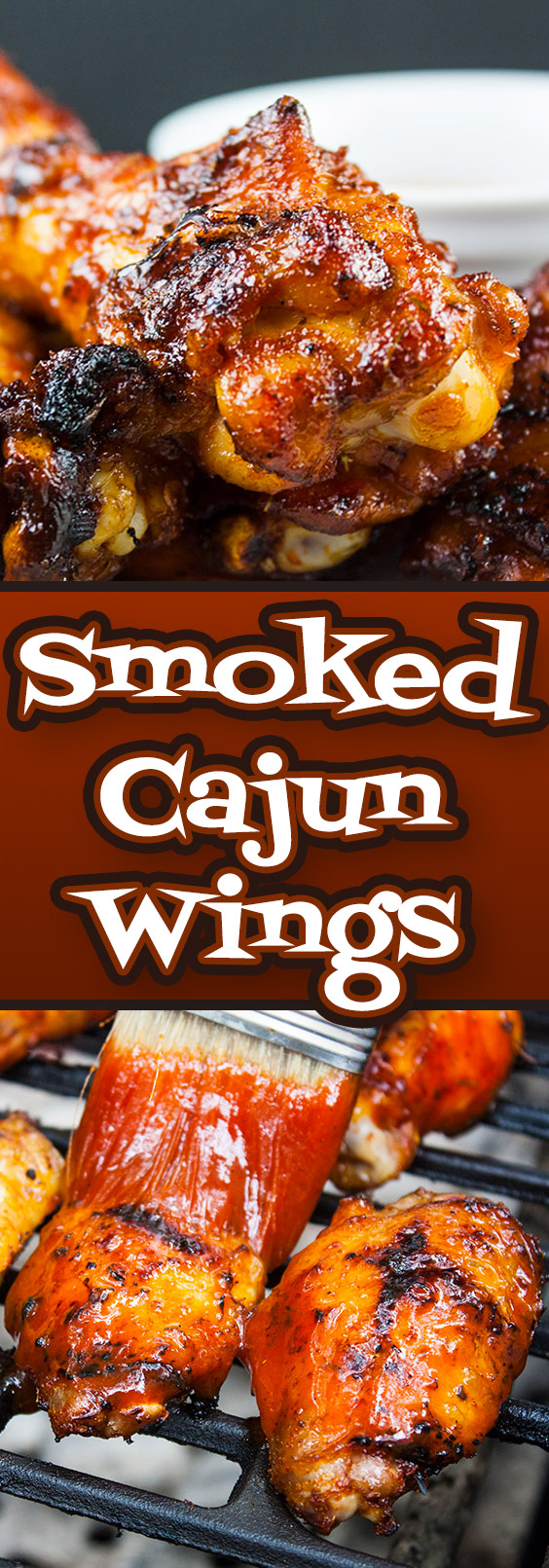 Cajun Smoked Chicken Wings - These barbecued chicken wings have a spicy Cajun rub meeting up with some sweet Pecan wood smoke, then finished off with an aromatic hot sauce. Deliciously smokey and spicy with a slight sticky sweet sauce that brings it all together in the most incredible chicken wing you will ever have.